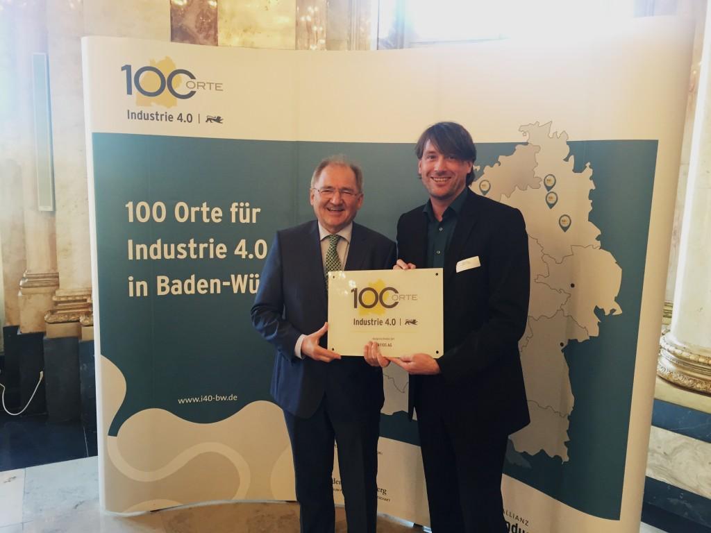 100 Orte für Industrie 4.0 - digital worx erhält Auszeichnung