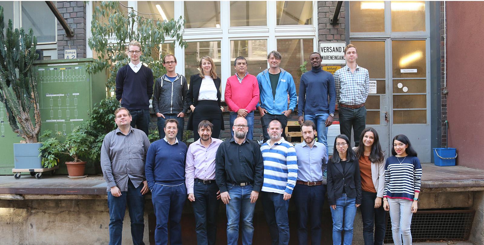 Europäische IT-Experten des Projekts IoT Crawler tagten in Stuttgart